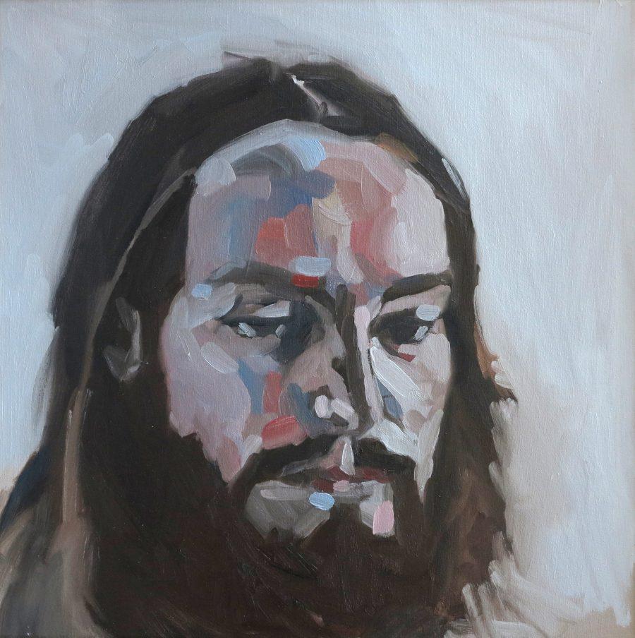 a-curious-man-oil-on-canvas-53x53cm-framed-2015-1100