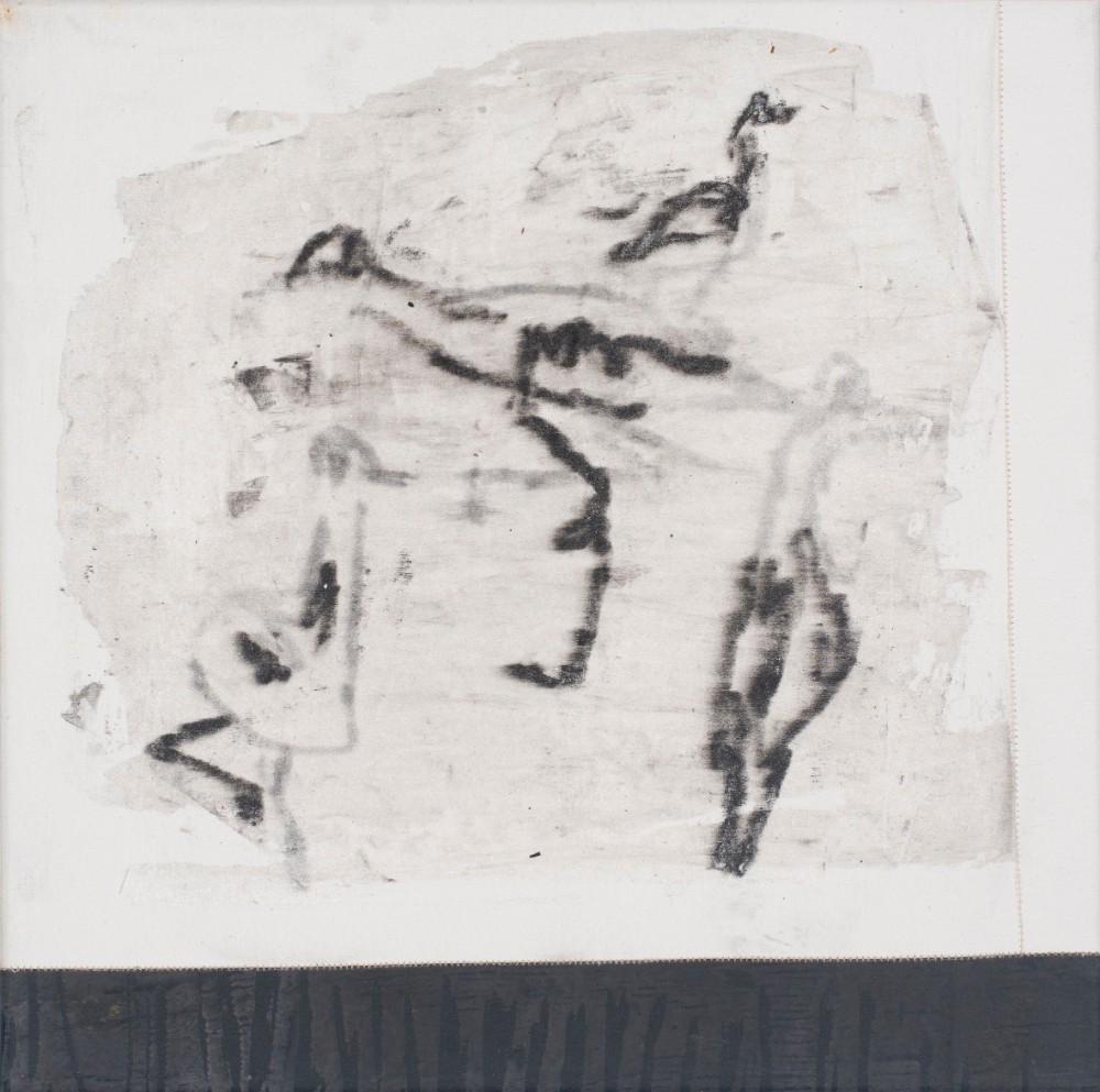 Bird walk #6 35x35cm