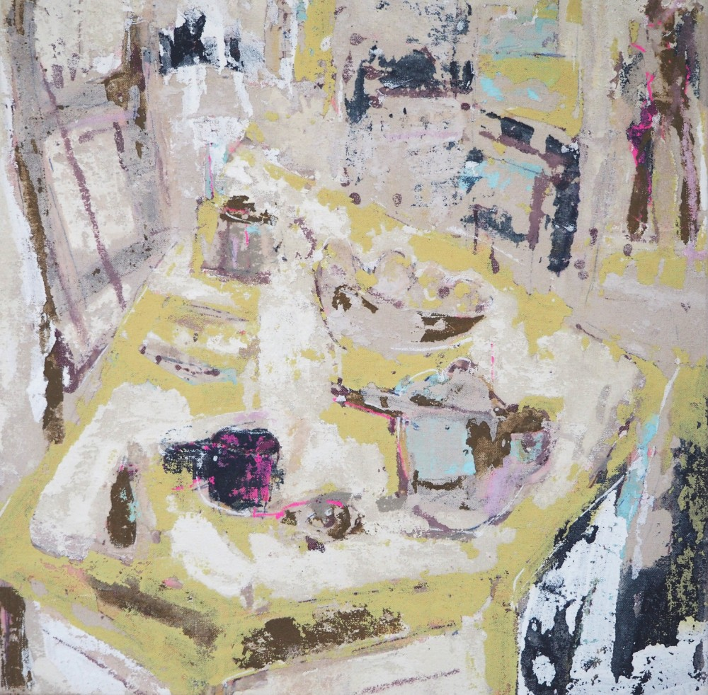 Breakfast table 40 x 40 cm