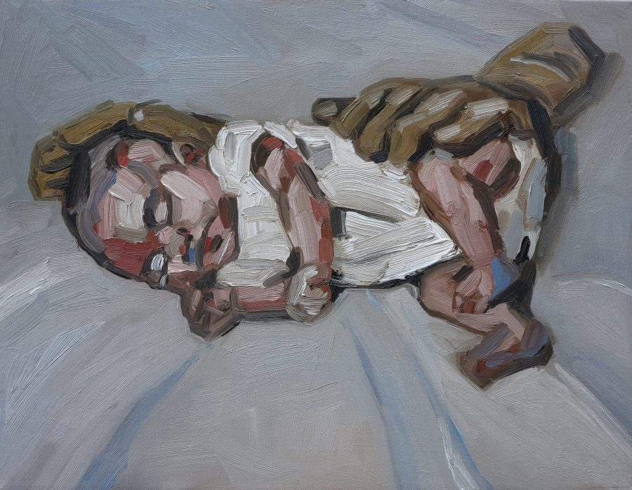 comfort-glove-oil-on-canvas-46x41cm-nfs