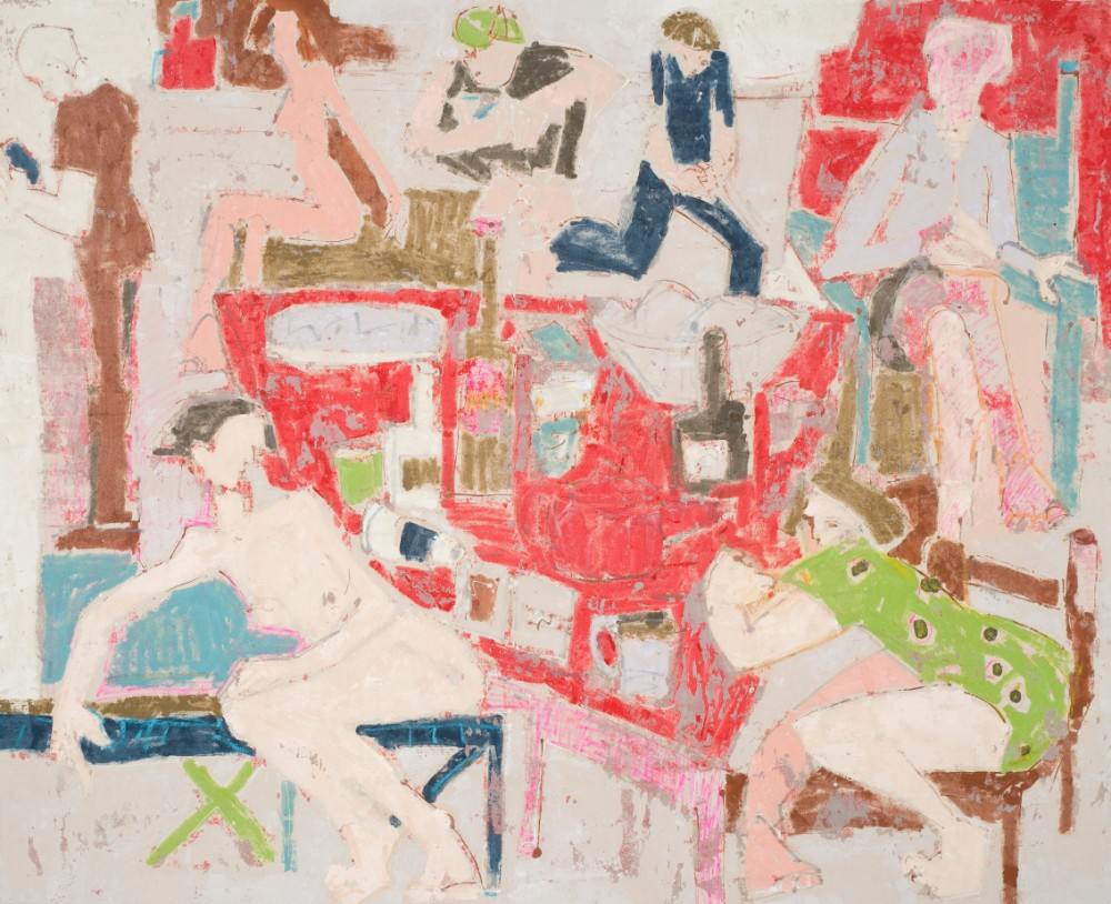 The card game #2 137x168cm