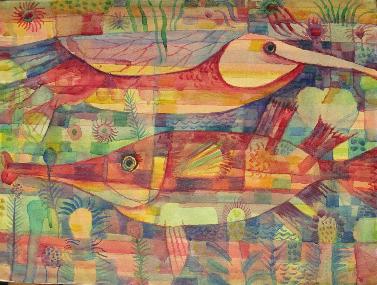 16-fish-no4-2013-40-5x30-5cm-canvas-500