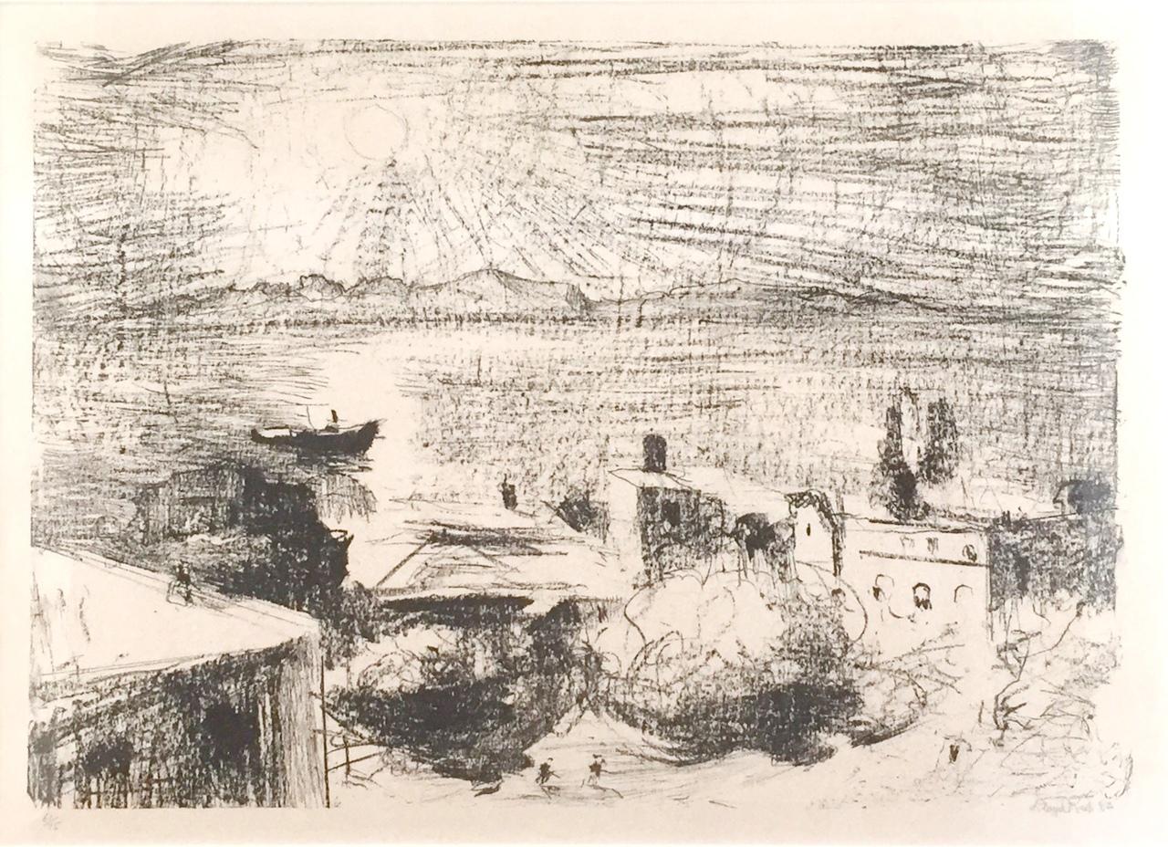 lloyd-rees-morning-light-hobart-1982-40-x-57-cm-lithograph-1600