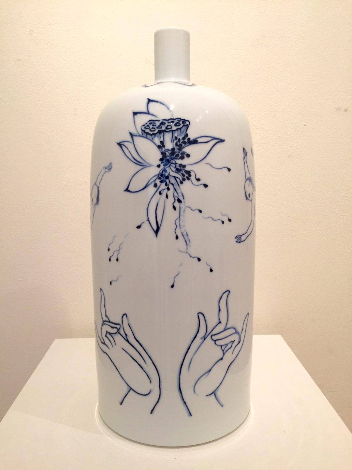 xifa-yang-lotus-45-x-20-diameter-cm-porcelain-2000