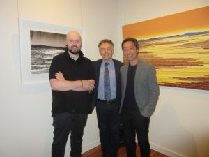 David Middlebrook - The Unreachable Horizon Exhibition Opening