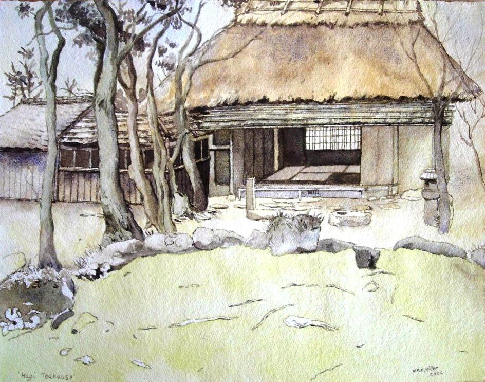 16. Max Miller Japan - Hagi Teahouse 2006 26 x 33 FR 52 x 60