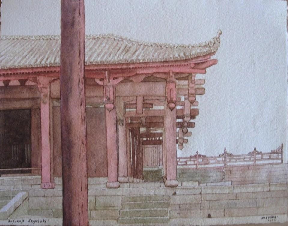 18. Max Miller Japan - Sofukuji, Nagasaki 2006 26 x 33 FR 52 x 60