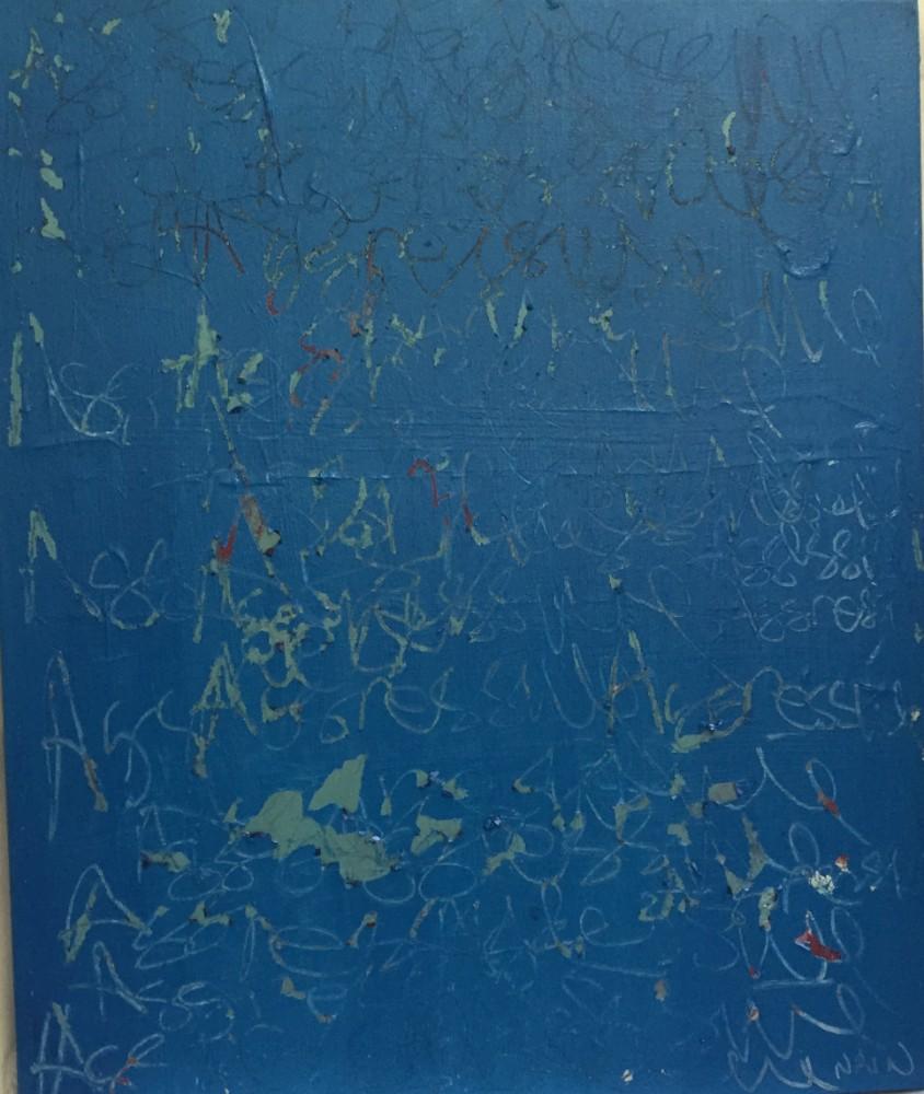Passive Agressive #6 Acrylic on Linen 60 x 50cm