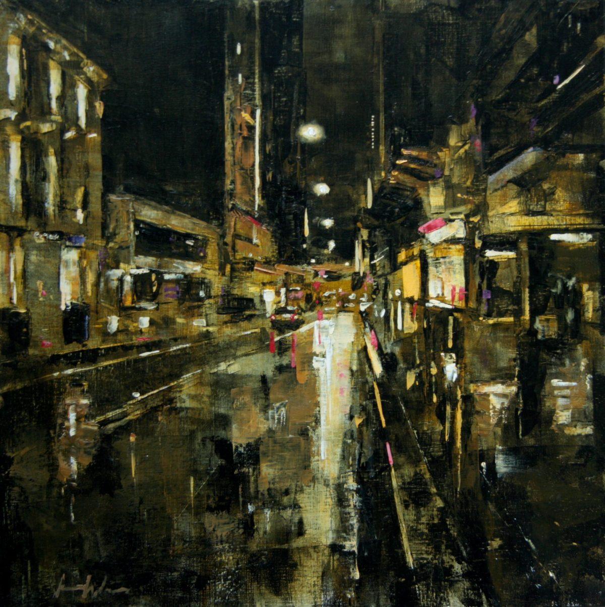 Evening Rain on Castlereagh Street