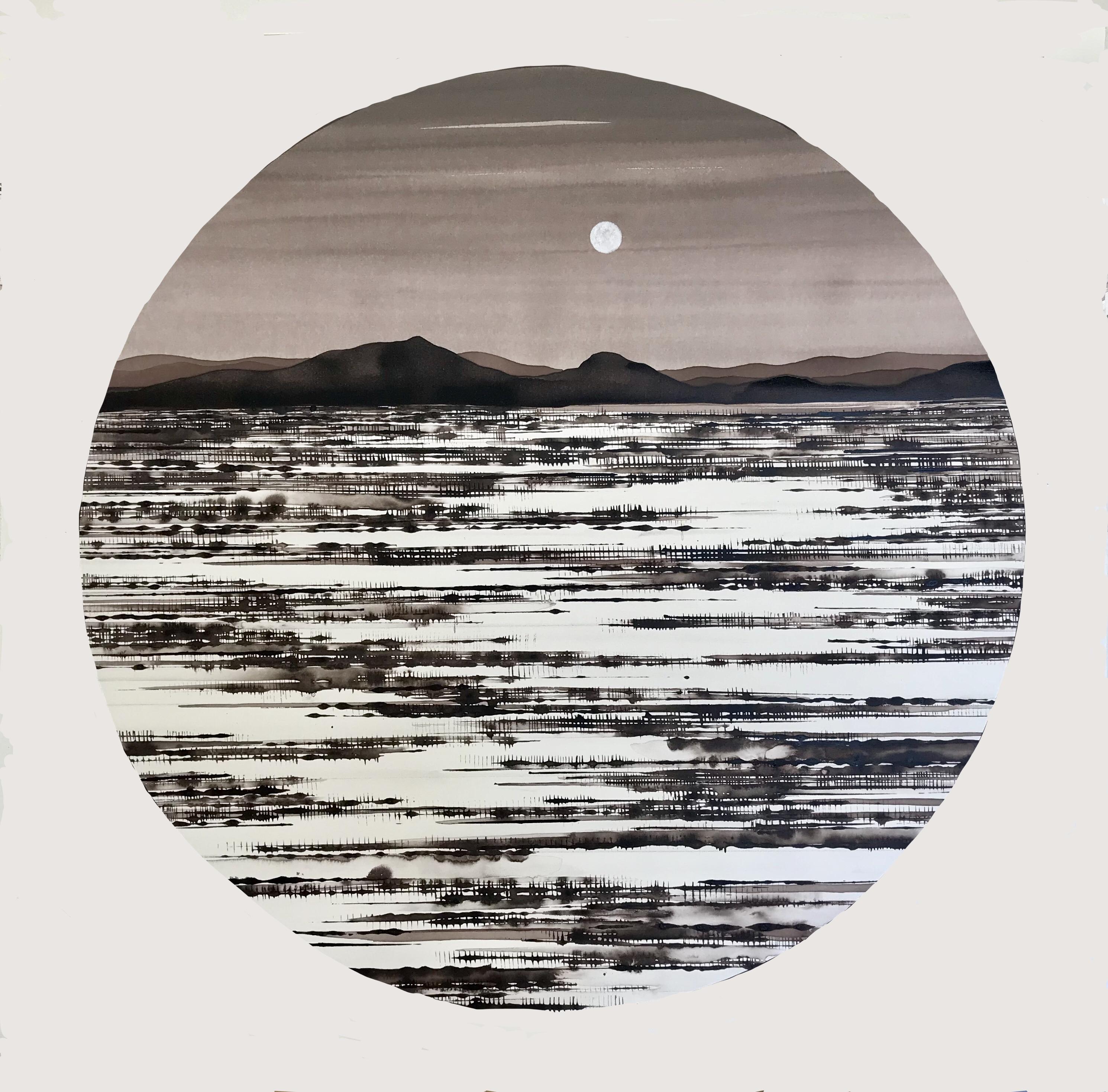 Desert and Moon