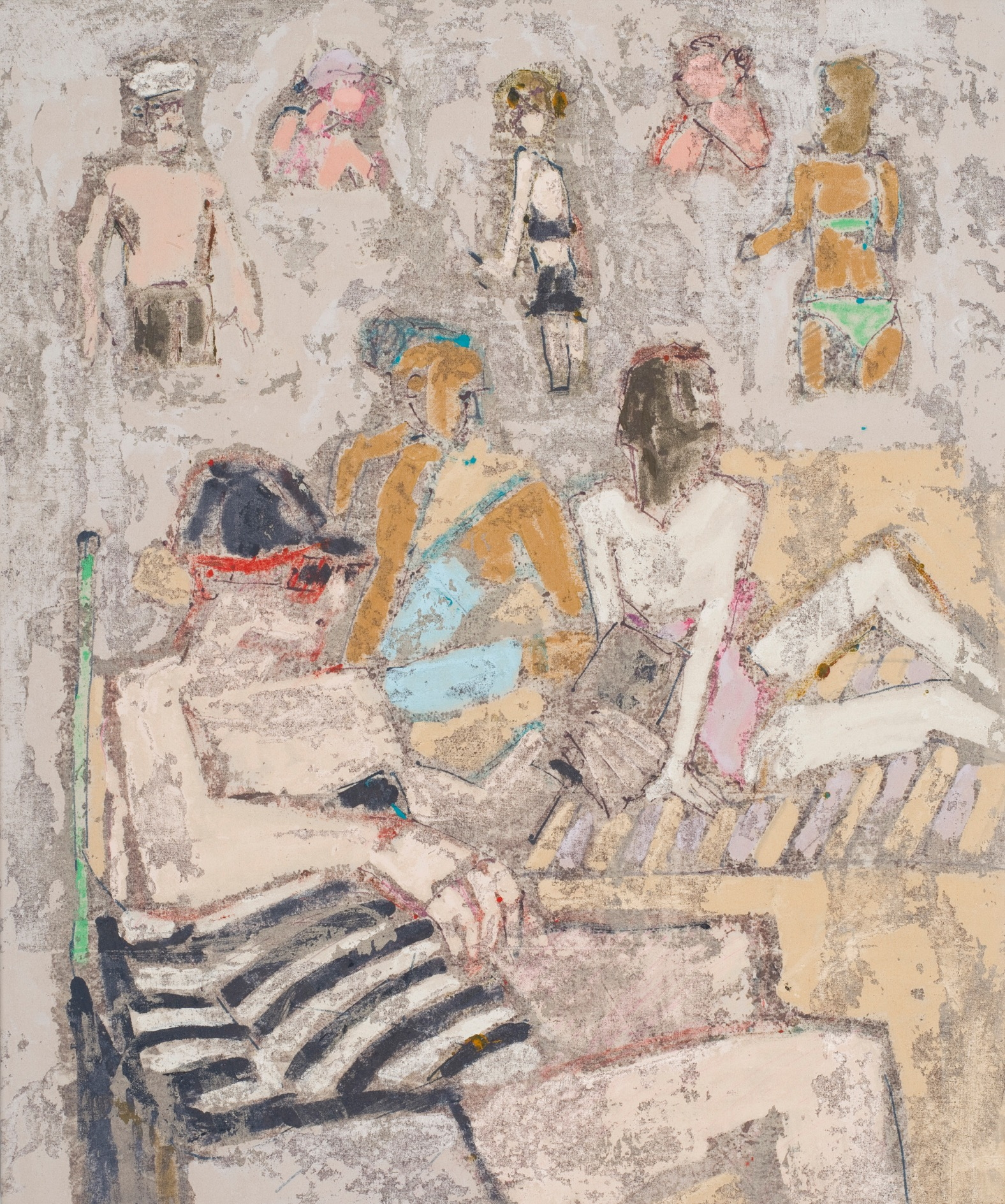 0.3 Silky beach day 91x76cm