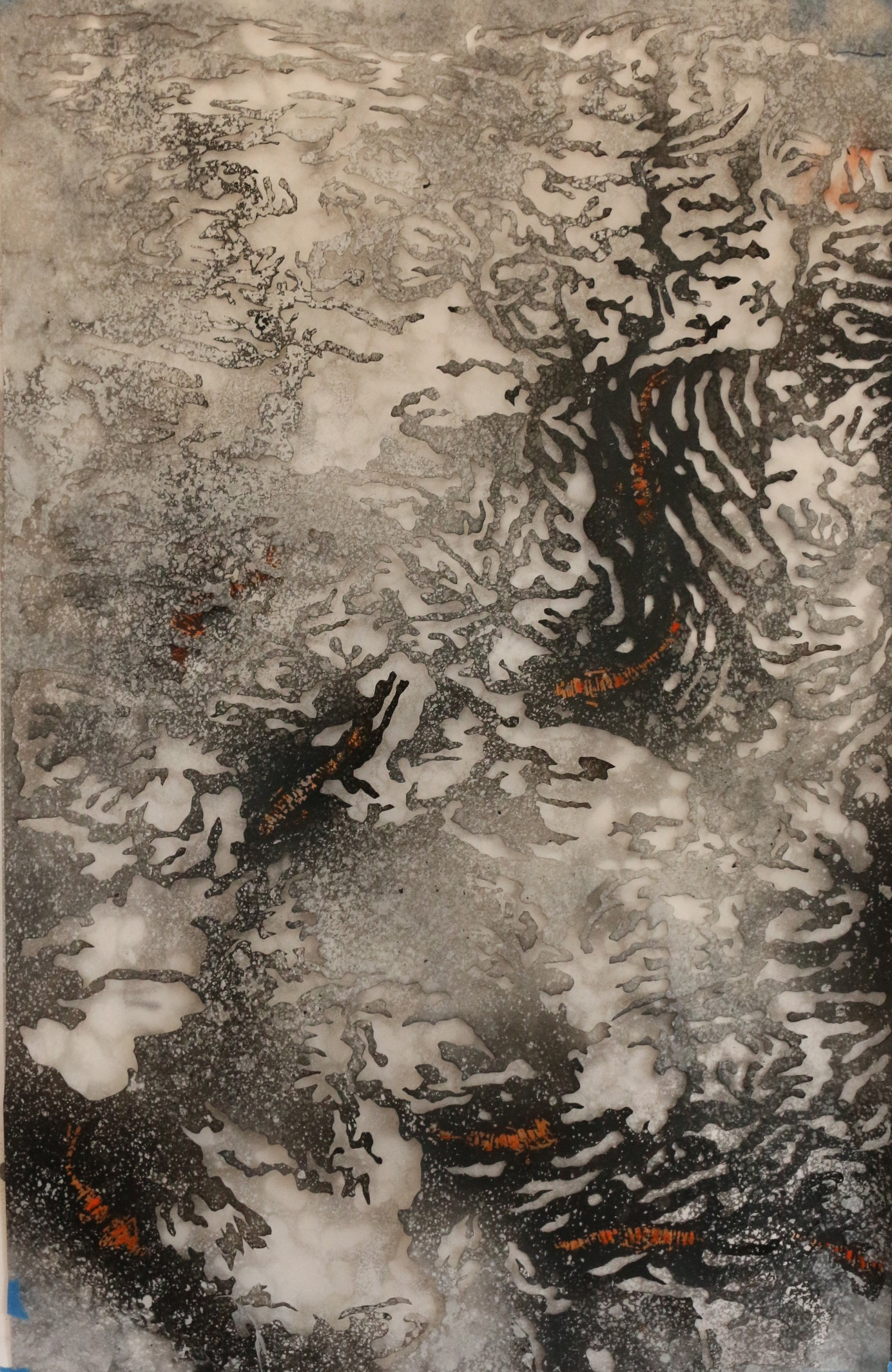 9.The Lily Pond V (Left Panel)