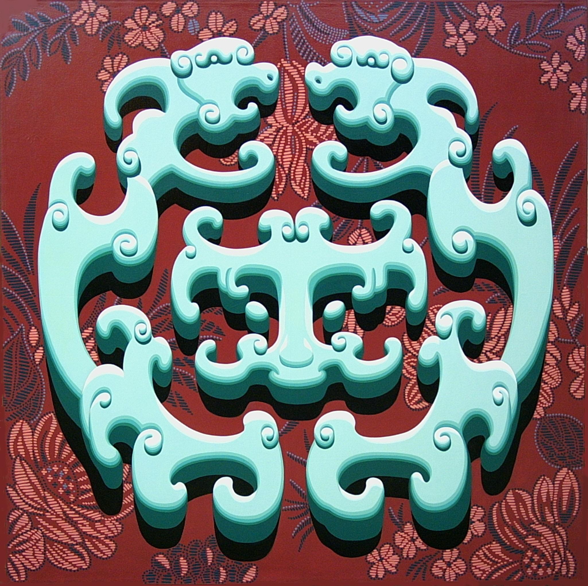 $24000_Jade_Dragon_180x180cm_Acrylic_Canvas