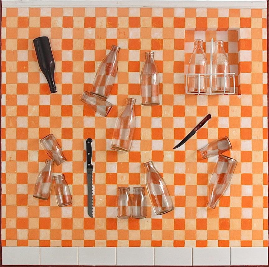 Empty 110 x 110 x 15cm