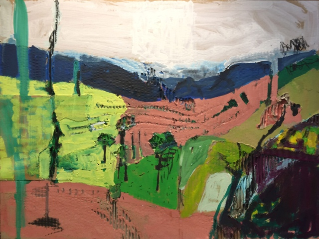 Art Atrium Paul Connor Rolling With Grattai Valley 84x65cm
