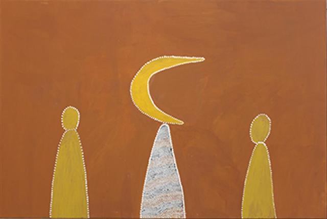 Garnkiny Ngarranggarni (Moon Dreaming)MABEL JULI Wiringgoon