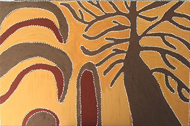 Jumulunj Doo Merrngak (Boab Tree and Lighting) PEGGY PATRICK