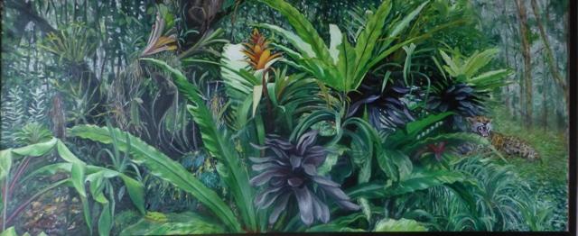 Jungle with Jaguar
