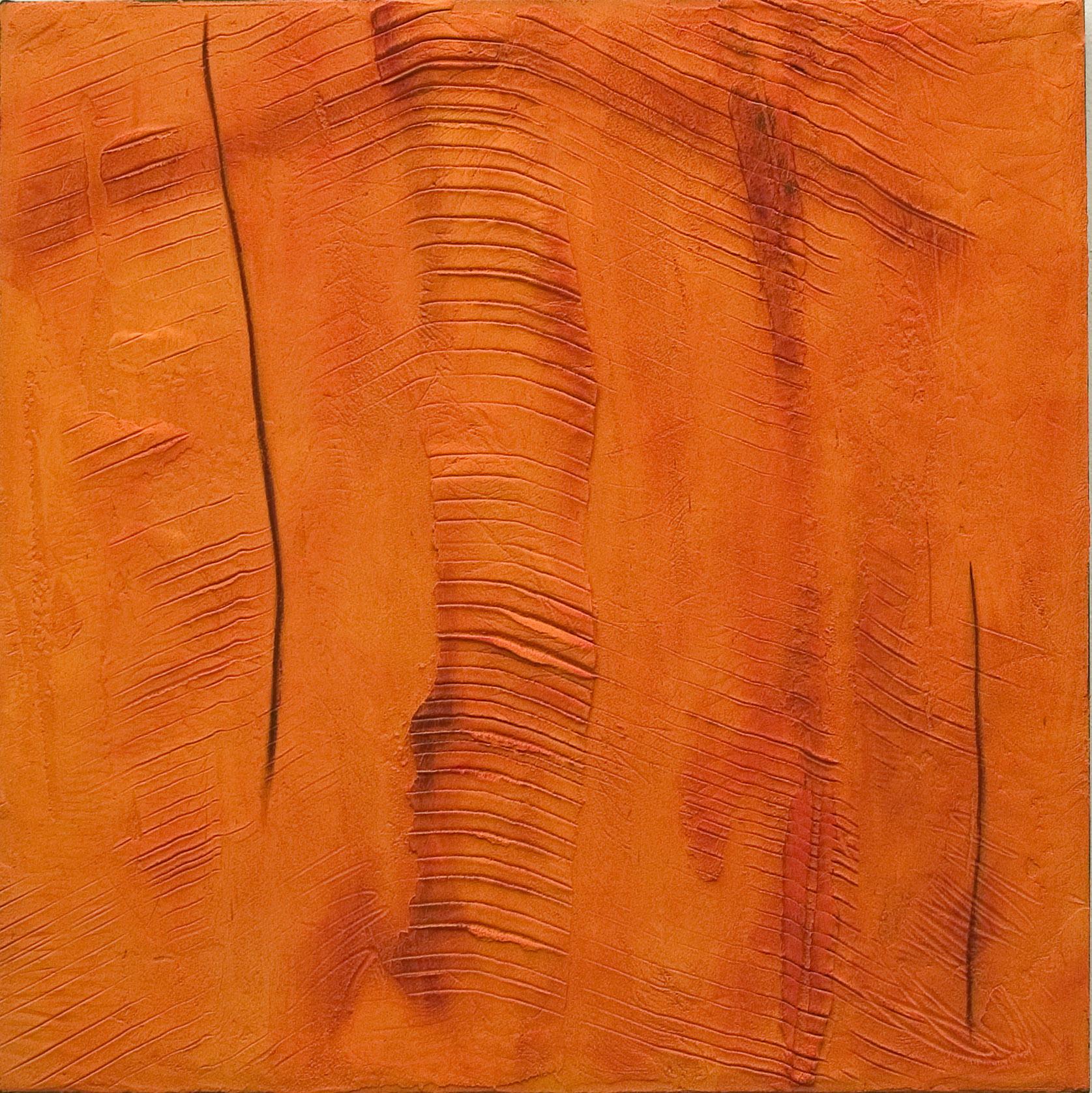Art Atrium Kate Briscoe Earth Lines Rockface Katherine Gorge #12 76X76cm
