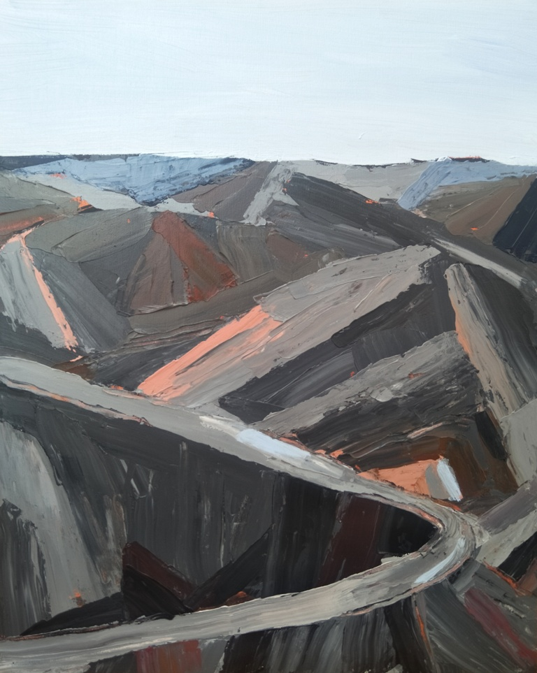 Art Atrium Nick Ferguson TMWM no.13, 50x40cm, acrylic on board, 2018, $1100 low res