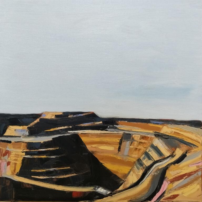 Art Atrium Nick Ferguson TMWM no.9, 2018, oil on Belgian linen, 61x61cm, $2100 low res
