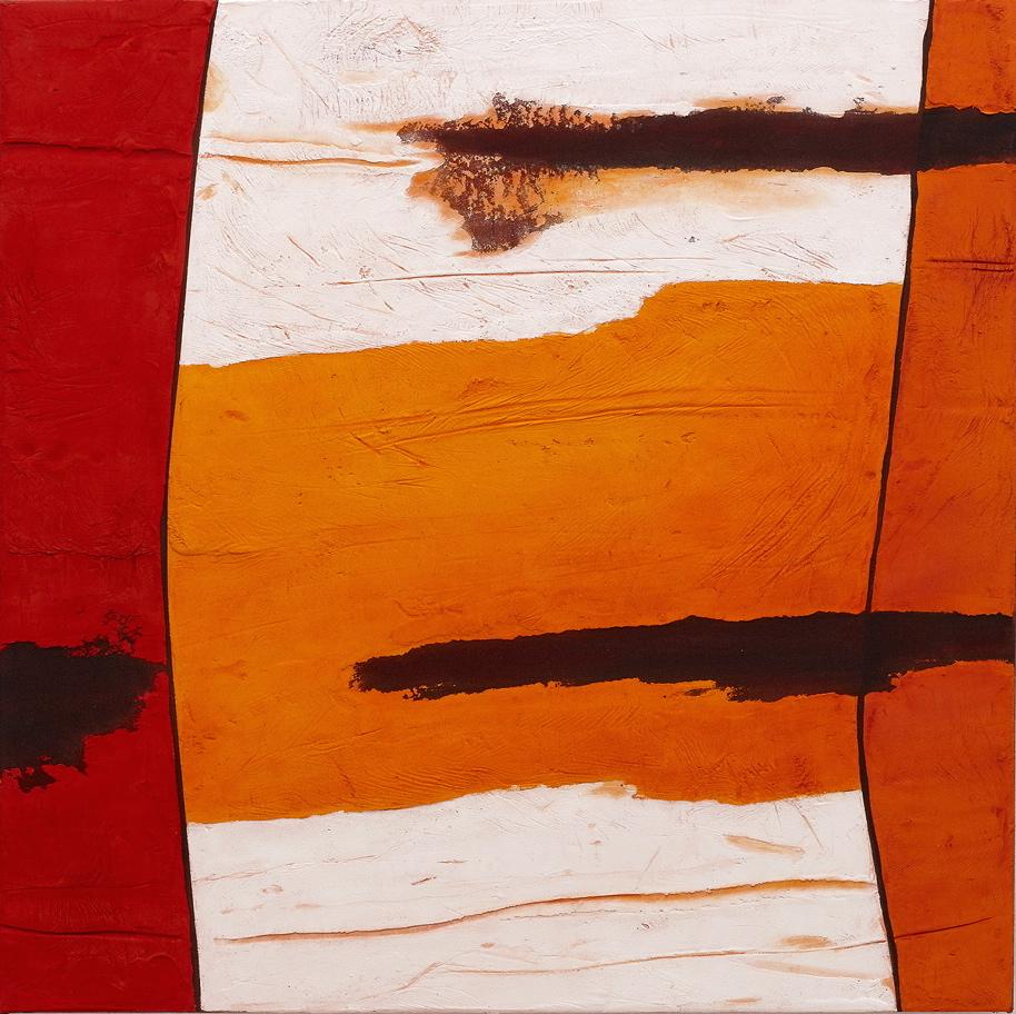 Art Central Kate Briscoe Rockface Strata Kimberley #3