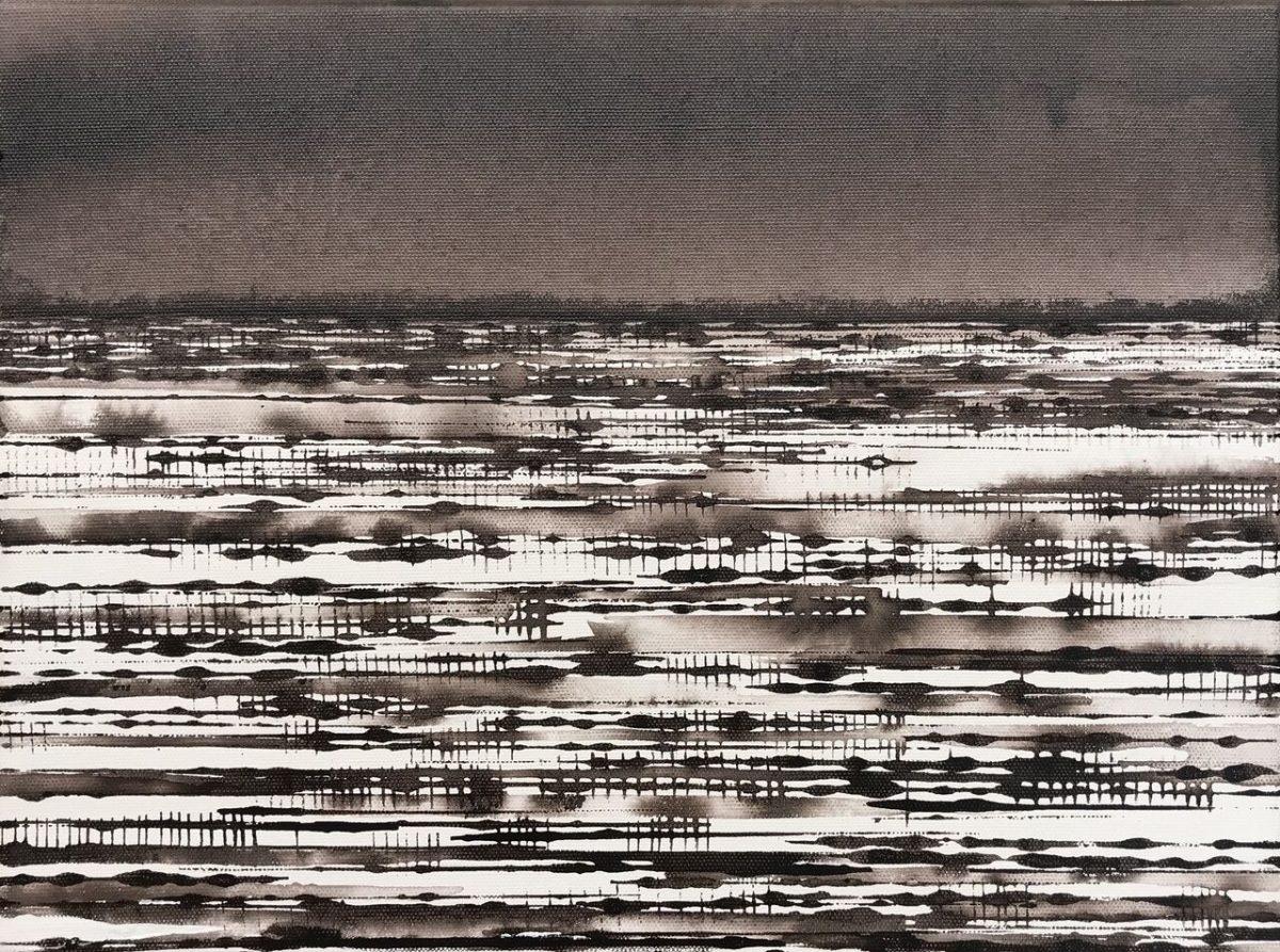 Art Atrium David Middlebrook Desert Field I