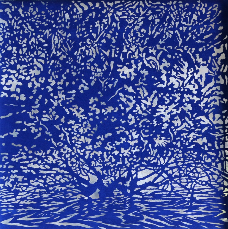 Art Atrium Andrew Tomkins Blue Cut V low res