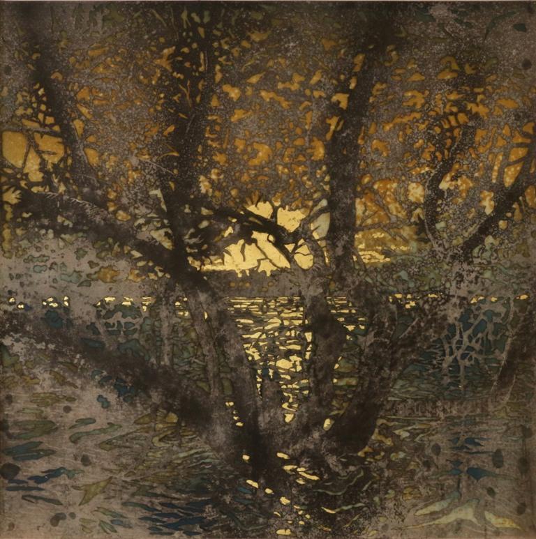 Art Atrium Andrew Tomkins Sunset, Meadowbank low res