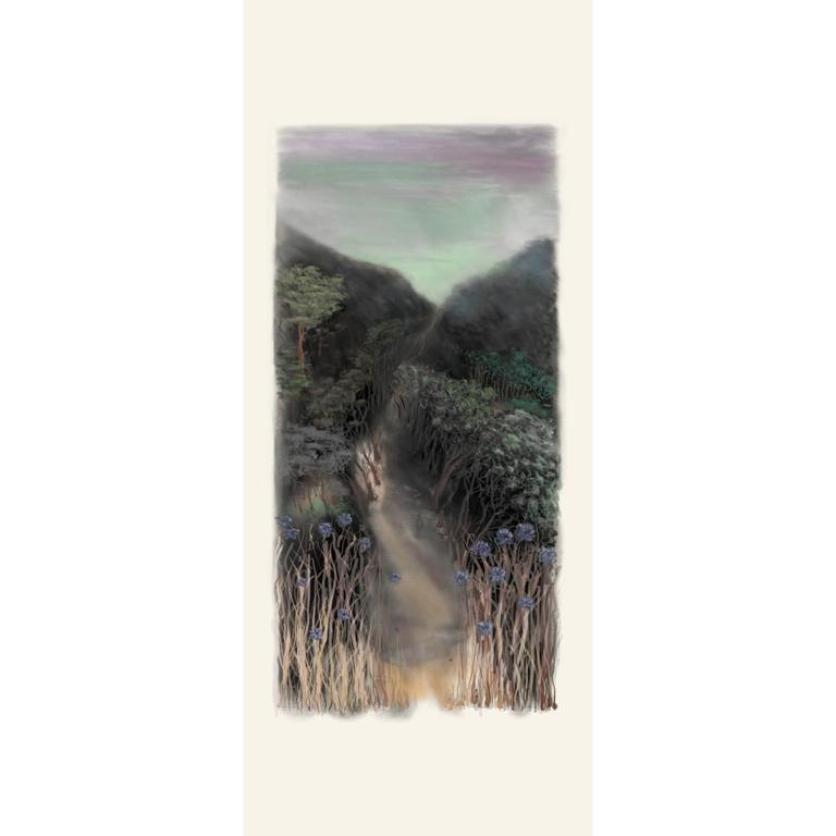 Art Atrium Paul Connor The Road He Took 215 x 85 cm Ipad print on belgium linen low res