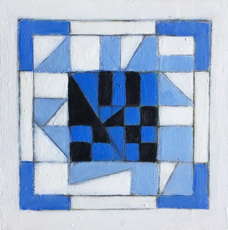 Art Atrium Susan O'Doherty Blue Link #1