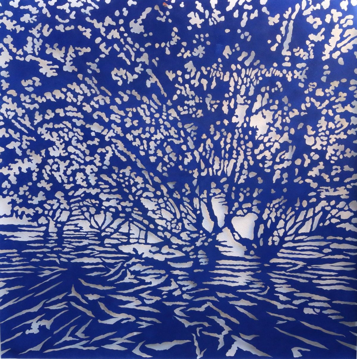 Art Atrium Andrew Tomkins - Blue Cut VIII low res