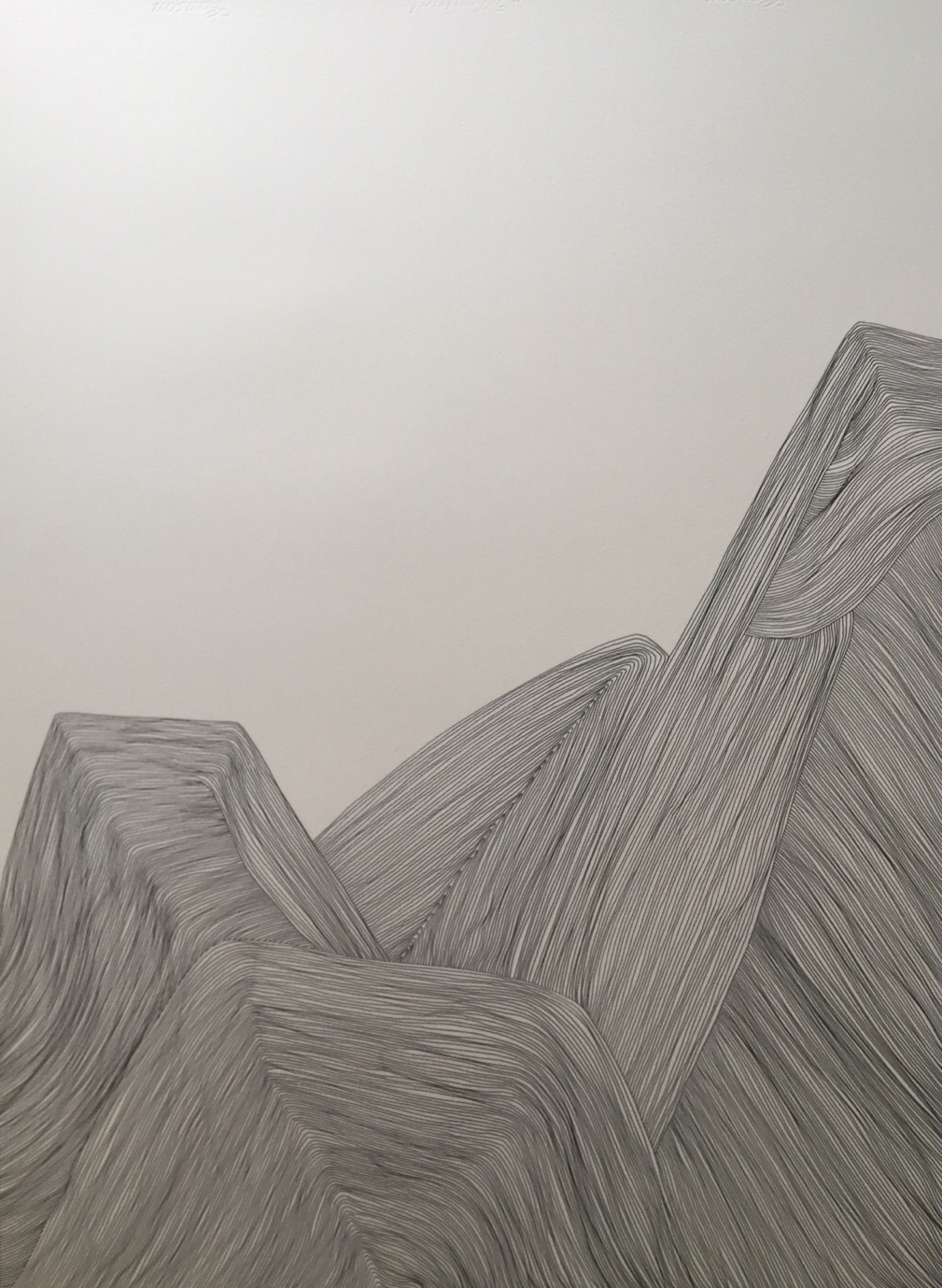 Art Atrium - Bingbing Chen Mountain Range 3