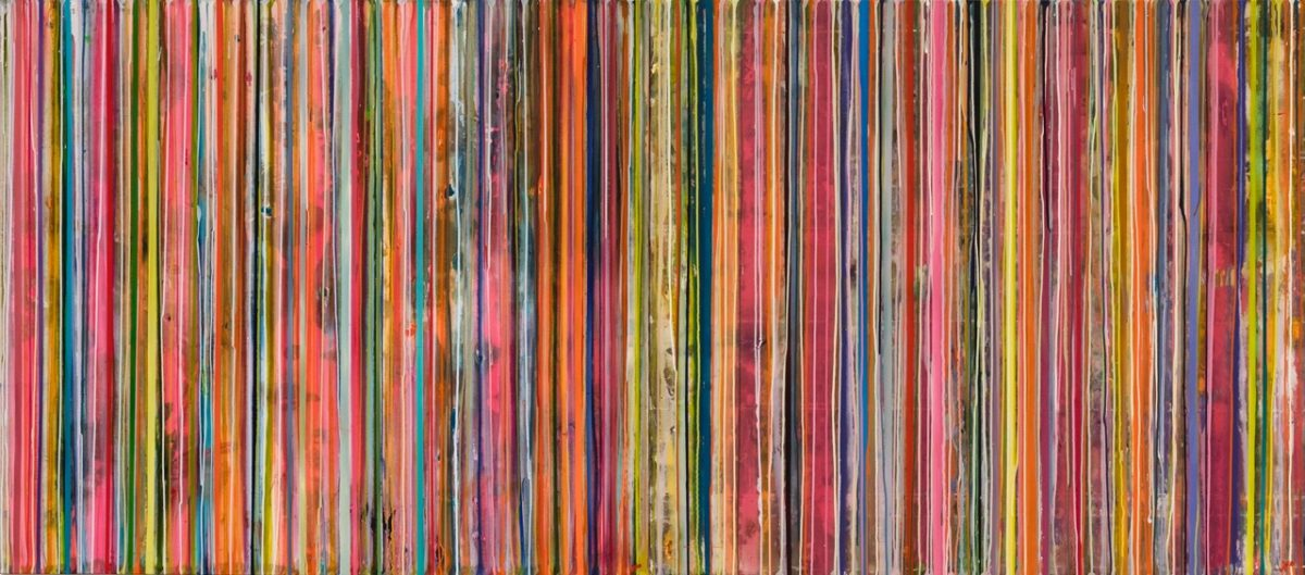 Art Atrium Julie Harris Bab'Aziz #4,#5 137x155cm@ acrylic on polyester