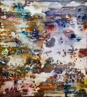 Art Atrium Julie Harris - Henriksen Suite #8 Acrylic on polyester 155 x 137 cm