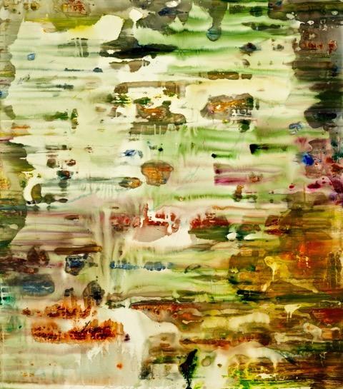 Art Atrium Julie Harris - Melos 155 x 137 cm Acrylic on polyester