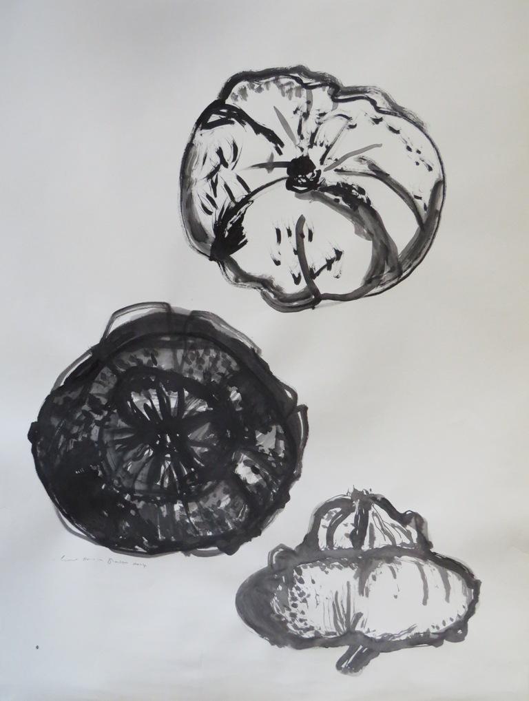 Art Atrium - Lynne Howarth-Gladston 3 Gourds low res