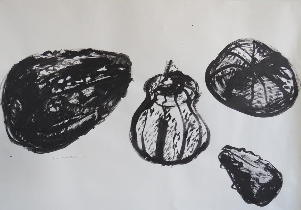 Art Atrium - Lynne Howarth-Gladston 4 Gourds low res