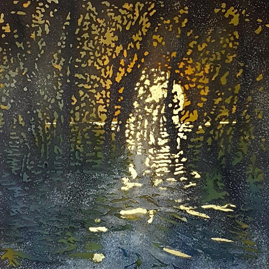 Art Atrium - Andrew Tomkins Sunset, Meadowbank II low res