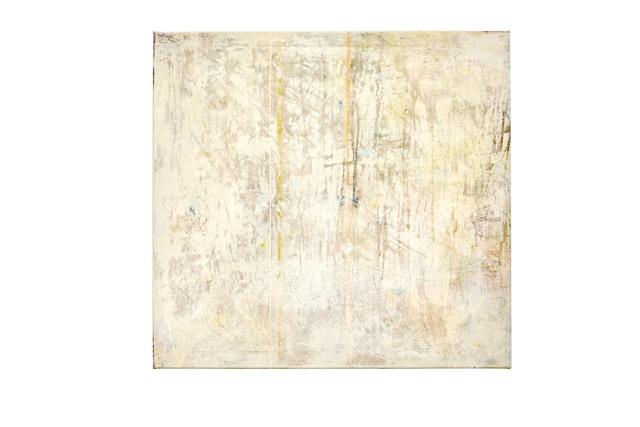 Art Atrium - Julie Harris - Breathing Space #2 2019 Acrylic and marble dust on canvas 80 x 85 cm