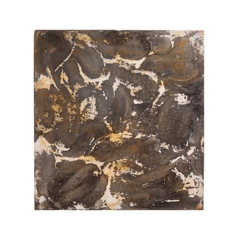 Art Atrium - Julie Harris - Sunson 2018 Acrylic,pumice and ink on canvas 140 x 132 cm