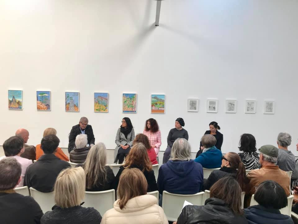 'Crossing Boundaries' Artists in Conversation 1