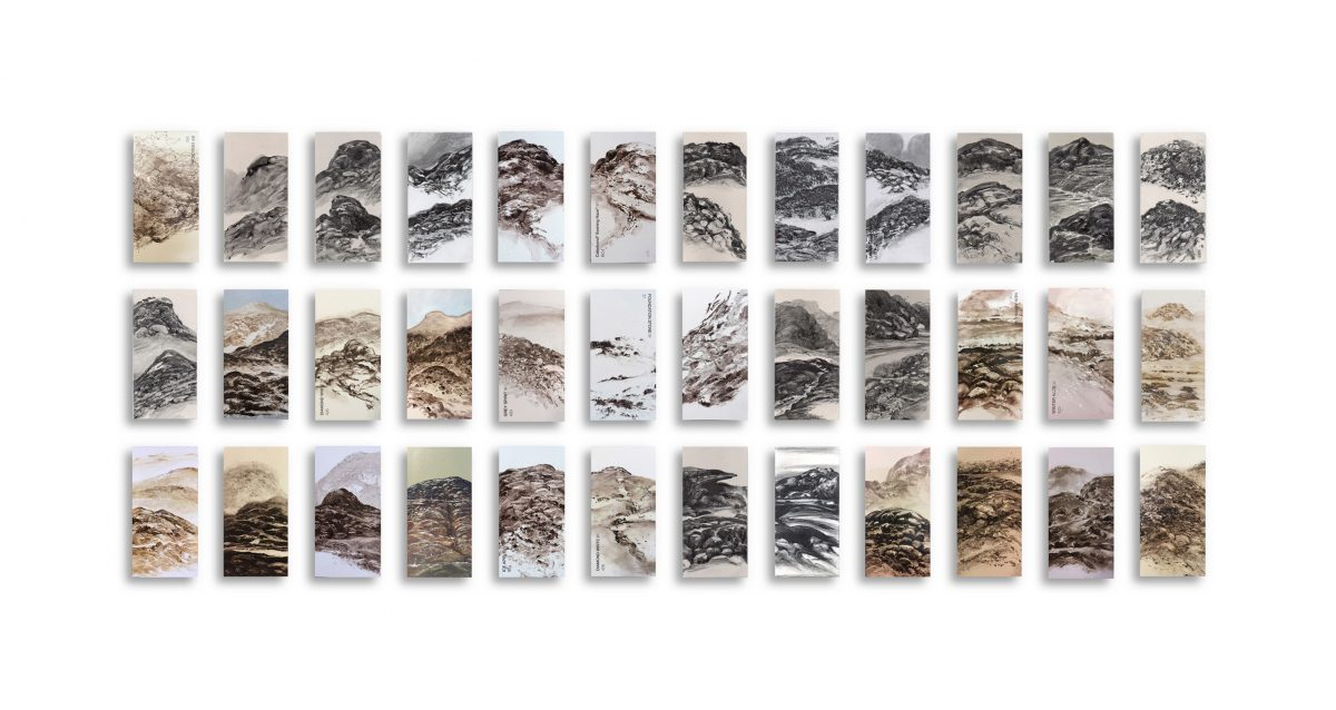 Art Atrium - Keith Fyfe - 36viewswalking_52 cm x 102 cm