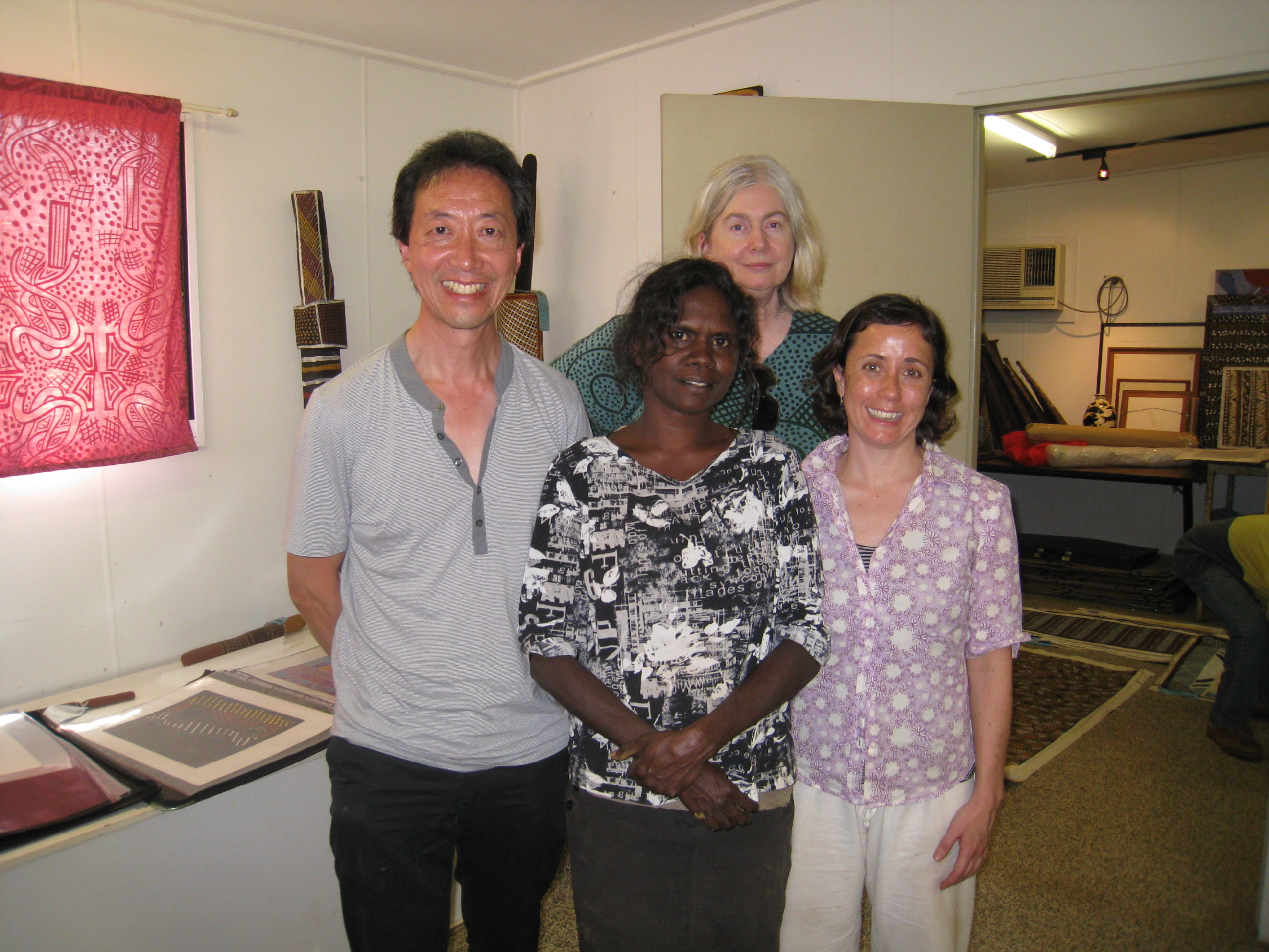 Art Atrium - Jennifer Isaacs at Tiwi Islands