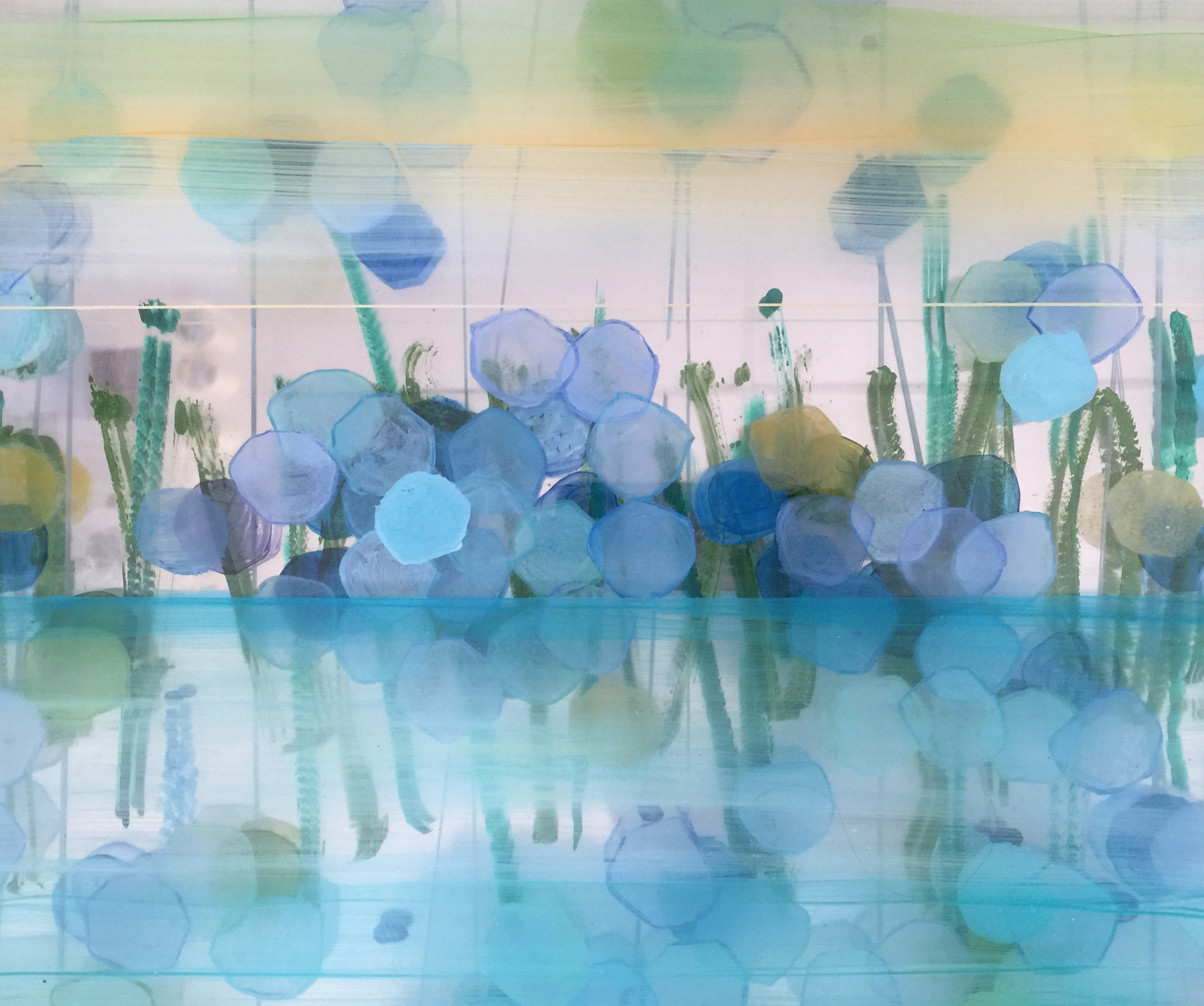 """Art Atrium Kaye Mahoney - 2.80 Dimensional Composition - """"Path of the Dragonfly"""""""