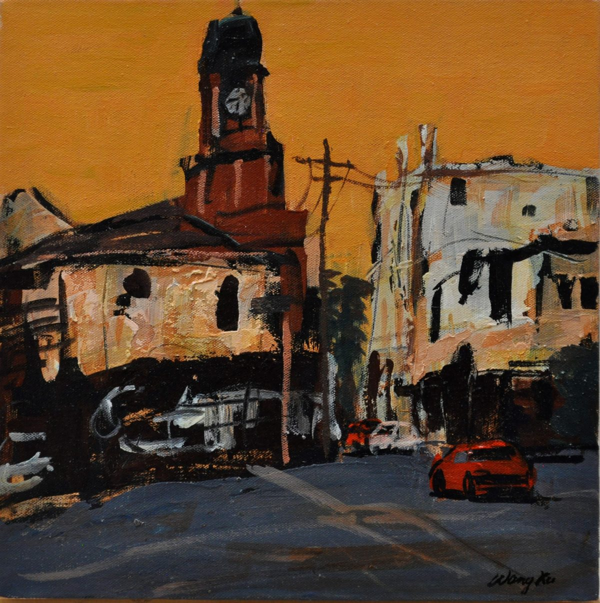 Contemporary Art, Australian Art, Sydney Art Gallery, Chinese Australian Artist, Art and Design, Art Exhibition, Art Gallery, Art, Art Atrium, Landscape, Urban Landscape, Cityscape