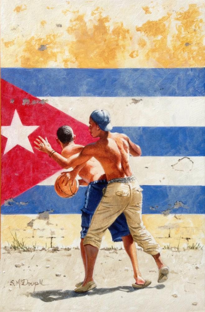 Backetball- Havana 21.5x14cm