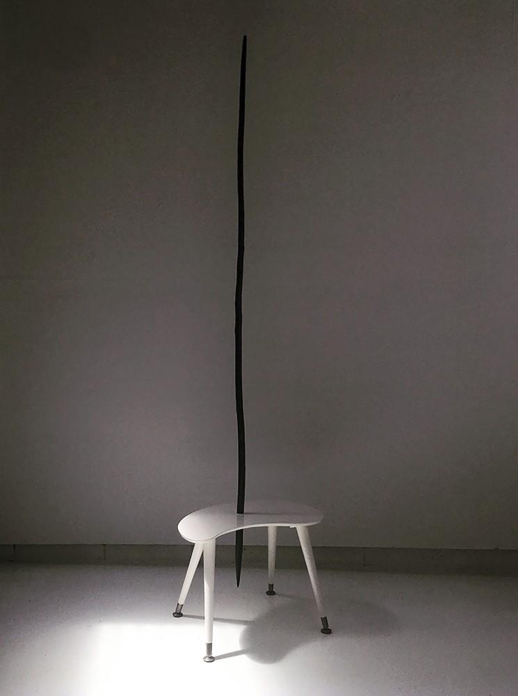 unsTABLEcountry 230 x 40 x 50cm Enamel & Wood 2014 $ 2500