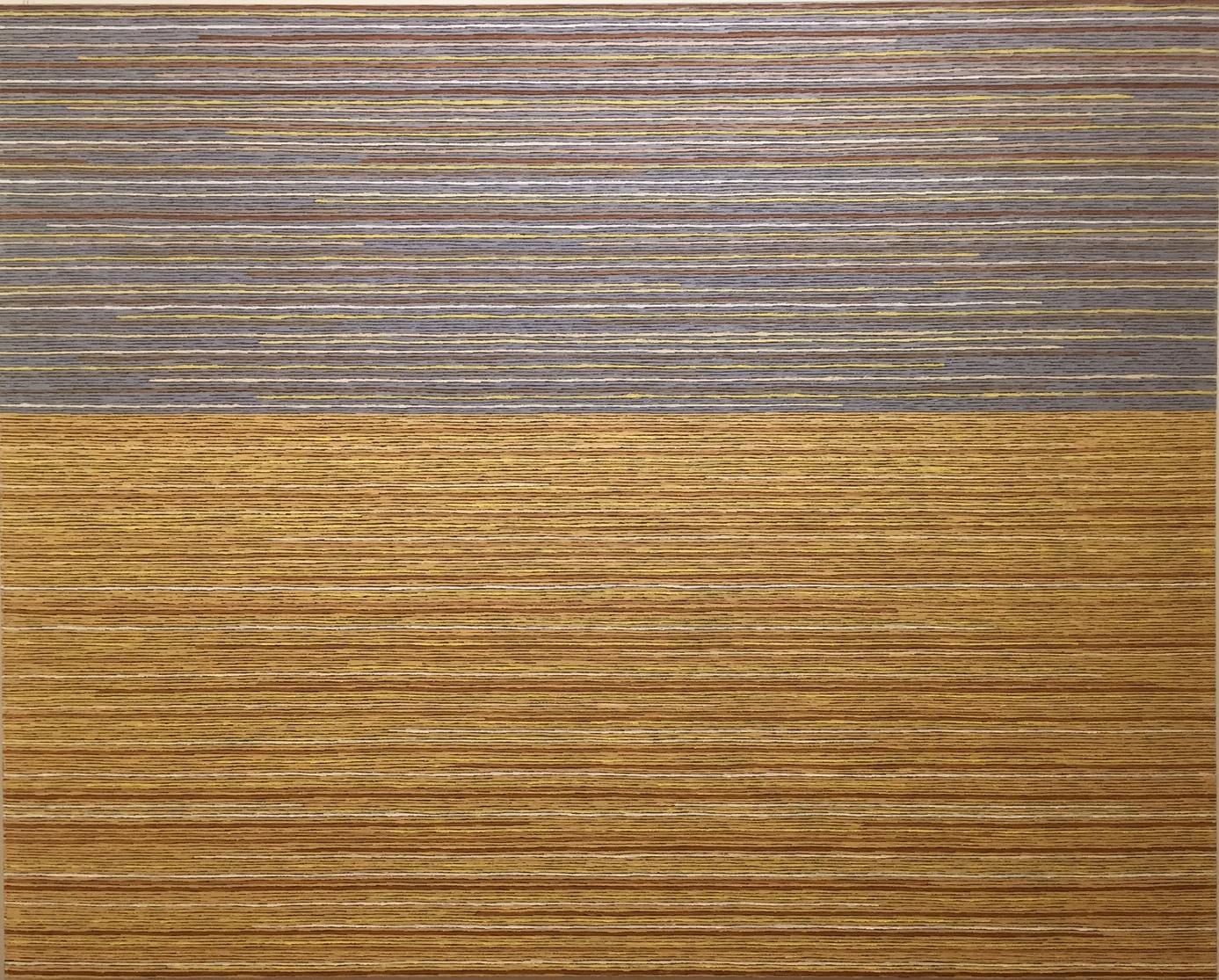 Desert Field 120 x 150 cm Oil on board $ 12000