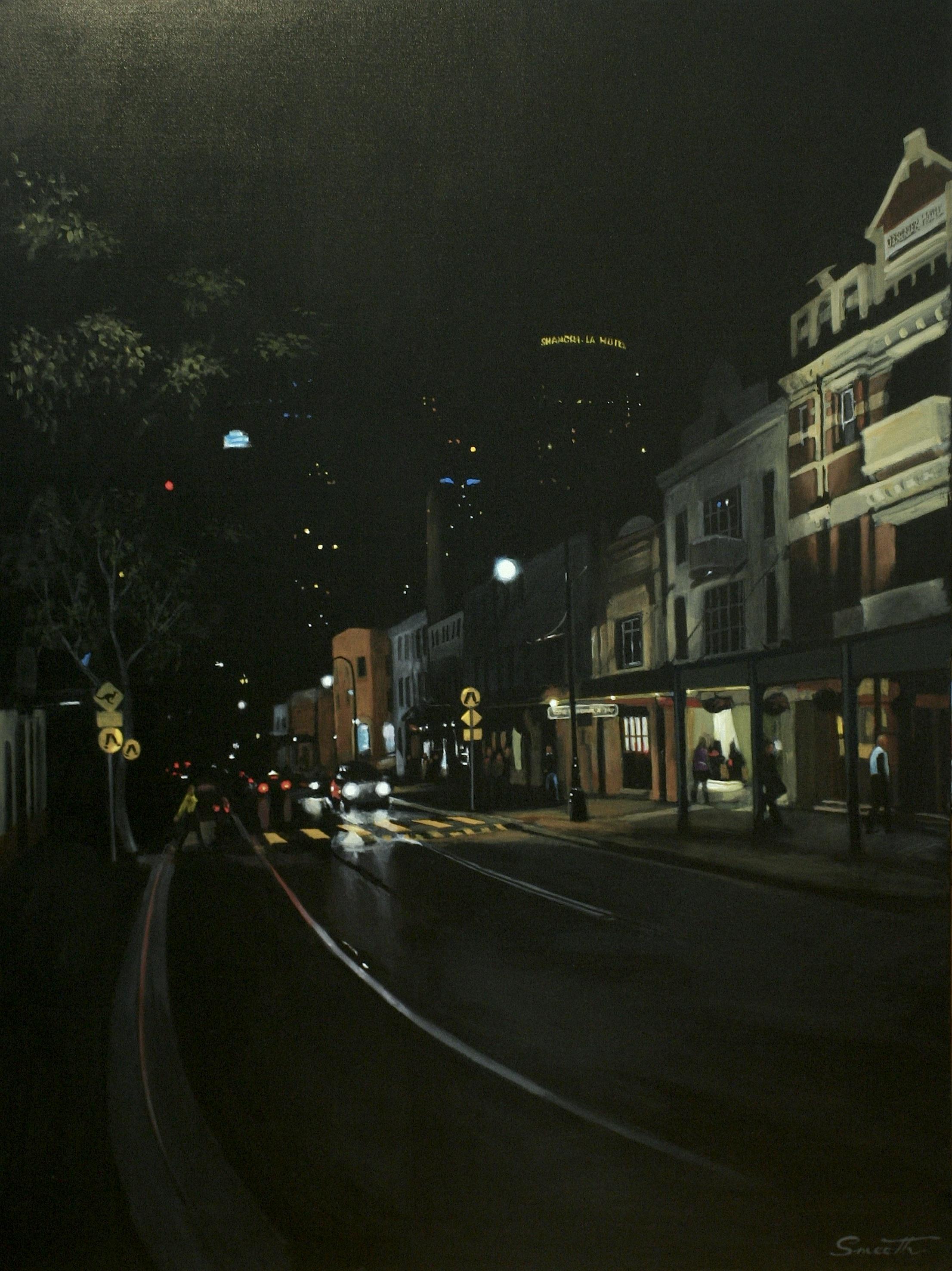 6Night Lights Symphony - The Rocks, Sydney Australia 2005. Acrylic on canvas 120x90cm $8,000